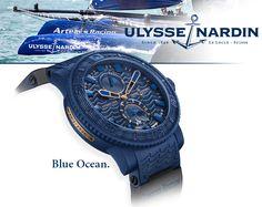 Daring Deep Blue Sea ... Introducing the Ulysse Nardin Blue Ocean Watch | ATimelyPerspective