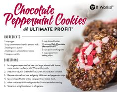 Our Rich Chocolate Ultimate ProFIT at its finest—a classic favorite with a holiday twist! Enjoy this yummy no-bake cookie this Christmas season!
