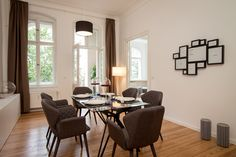 A view in our beautiful and bright apartment in Wichertstraße6. This could be your next home!