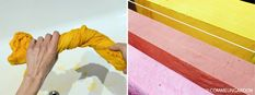 DIY : teindre des textiles avec des plantes tinctoriales et obtenir de merveilleuses couleurs douces et naturelles ! Voici mon retour d'expérience avec les peaux et noyaux d'avocats, le curcuma et la garance.