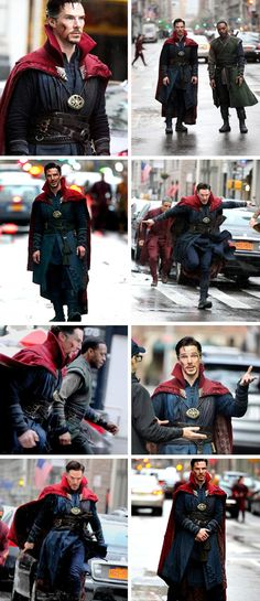"""New Dr. Strange Set Photos. I DON""""T THINK YOU UNDERSTAND HOW IMPORTANT THESE PICTURES ARE TO ME."""