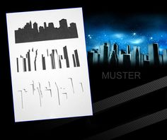 Step by Step Airbrush Stencil AS-057 ~ Template ~ UMR-Design