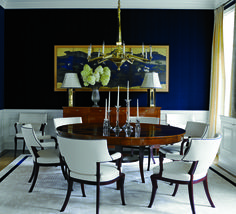 Dining Room  Dining  Contemporary  Contemporary  Transitional by Sherrill Canet