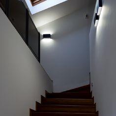 QUAD - Double emission wall lamp, ideal for the lighting of entrances and corridors. #LED #light_e_design #design #illumination #lamp #lightdesign #indoor #lighting #lamp #pendant #iluminacion #decor #home #decoracion #lampara