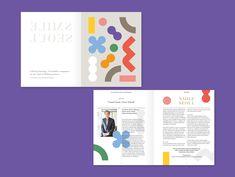 서울특별시평생교육진흥원 BROCHURE on Behance Pamphlet Design, Leaflet Design, Booklet Design, Brochure Layout, Brochure Design, Branding Design, Kids Branding, Web Design, Layout Design