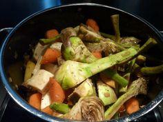 Barigoule de légumes - Découvrez la recette sur http://www.savourez-la-provence.fr/blog/recette-de-la-barigoule-de-legumes/