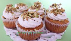 #cupcakes con #marmellata di #fichi, #ricotta e #pistacchi http://blog.giallozafferano.it/casadolcecasaconemma/cupcakes-fichi-ricotta-pistacchi/ #ricetta #dolci #colazione