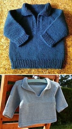 Amazing Knitting provides a directory of free knitting patterns, tips, and tricks for knitters. Crochet Baby Jacket, Knitted Baby Cardigan, Knit Baby Sweaters, Crochet Baby Boys, Baby Boy Sweater, Boys Sweaters, Knit Cowl, Free Baby Sweater Knitting Patterns, Free Knitting