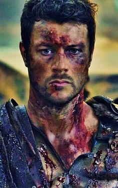 Dan Feuerriegel - covered in blood and gore, so amazingly hot!