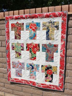 Kimono's Wall Hanging Quilt by QuiltSewPieceful on Etsy, $105.00