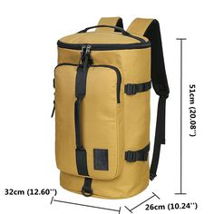 40L Big Capacity Travel Backpack Water Repellent Oxford Outdoor Bag For Men Online - NewChic Mobile.