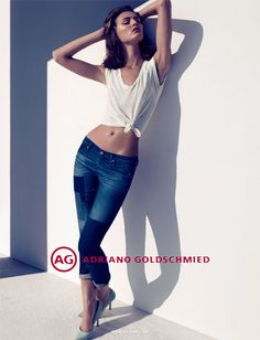 Camila Akrans Lenses Ali Stephens for AG Jeans Fall 2012 Campaign