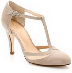 chaussure salome grise