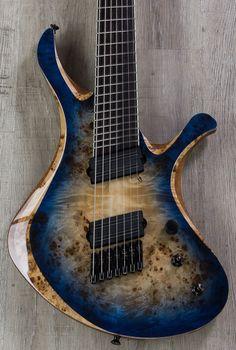 Skervesen Swan 7 FF 7-String Electric Guitar, Bare Knuckle Black Hawk Pickups, Hard Case - Guitar - Instruments