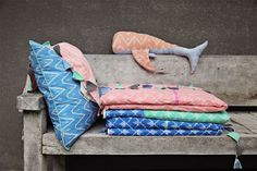 Duduk - Dutch Design, Made in Bali - KidStyleFile Plush Animals, Storage Baskets, Bunting, Shades Of Blue, Pink Grey, Mint Green, Outdoor Decor, Inspiration, Collection
