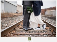 Love on the tracks The Booking House  http://thebookinghousemanheim.com  (c) Tessa Marie Images http://tessamarieimages.com