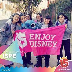 Cómo está #córdoba! Las chicas del #Ispe con el #promoteam2016 se acercan a su sueño de viajar a #Disney! #Transatlántica #avanta
