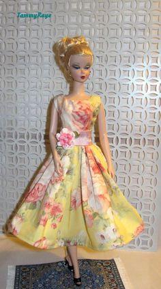 Ooak Vintage Fashion  for Barbie Silkstone by TammyRaye #Custommade