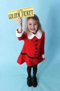 Book Week Costume – Veruca Salt