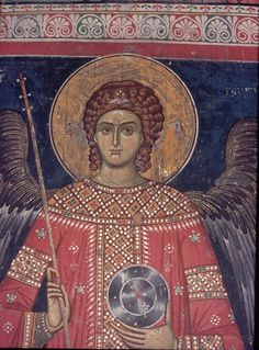 Whispers of an Immortalist: Holy Angels 7 Medieval Art, Renaissance Art, Tempera, Fresco, Archangel Gabriel, Religion, Byzantine Art, Angel Pictures, Angels Among Us
