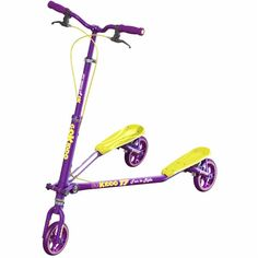 Go-Kiddo GK-T7-PP T7 Carving Scooter - Purple