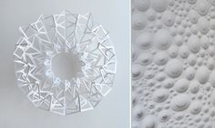 Matt Shlian  New obsessively process-oriented sculptures by a paper engineer
