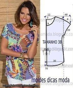 Выкройки летних блузок (Шитье и крой)   Журнал Вдохновение Рукодельницы