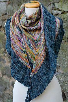 florentine's ♥♥♥ | malabrigo Mechita and Sock in Diana and Azules colorways