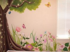 1000 images about fairy mural on pinterest murals for Fairy garden mural