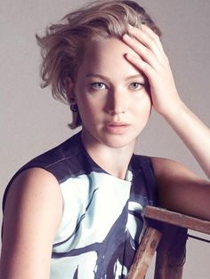 Jennifer Lawrence for Christian Dior