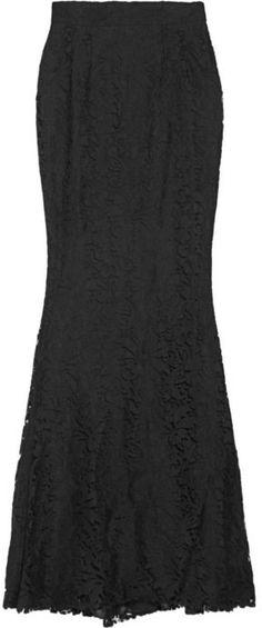 Dolce & Gabbana | Lace fishtail maxi skirt