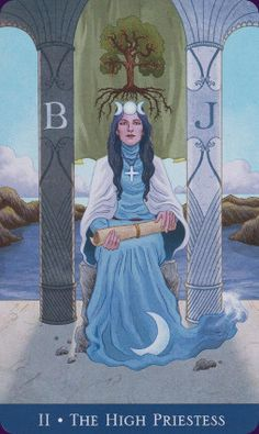 Example card from the Llewellyn's Classic Tarot deck. DISCOVER MORE: http://www.tarotacademy.org/llewellyns-classic-tarot/
