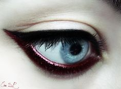 Xmas Chic makeup by Chuchy5.deviantart.com on @deviantART