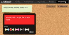 Three online sticky note tools