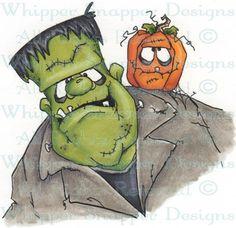 Frank Selfie - Halloween Images - Halloween - Rubber Stamps