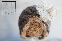 The 'Hazel' Beanie Baby Turban Newborn by BabesinKnots on Etsy, $45.00