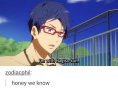 Free! Reigisa - Rei Letting Out his Relationship