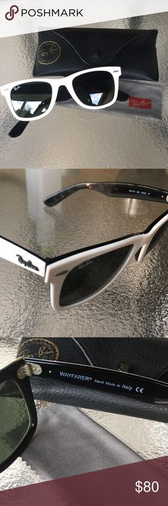 cd628a54bb They are in excellent condition. No damages and no scratches. Case and cloth  included. Feel free to make an offer 🤗 Ray-Ban Accessories Sunglasses