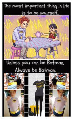 """Gerard & Bandit Way (BATMAN)"" by ilovehedgehogs1029 ❤ liked on Polyvore featuring Oris, Bottega Veneta, Dr. Denim, batman, gerardway, mychemicalromance, hesitantalien and banditway"