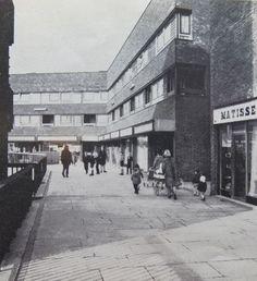 Original shops on Pepys Estate.Circa 1966