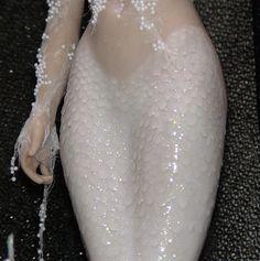Barbara Kee mermaid polymer clay mermaid scales how to