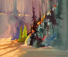 February Shadows, Rio Grande by Stephen Quiller