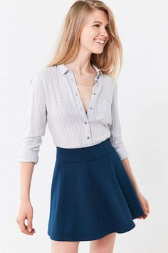 Cooperative Penelope Mini Skater Skirt