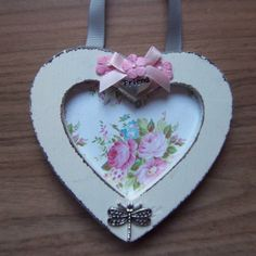Mini friendship heart frame  photo frame  by CathsLittleTreasures