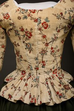 Fripperies and Fobs — Jacket, 1780-95 From Historic Deerfield Museum
