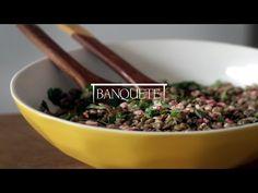 Banquete » Salada de Lentilhas com Romã