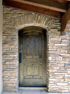 Interior & Exterior Doors - Classy Closets of Utah - Rustic Tuscan Door.  Give your home a unique touch, give it a door with character! http://classyclosets.com/