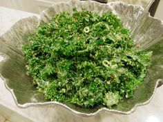 kale salad with mint, serrano, toasted breadcrumbs and lemon parmesan vinaigrette #valleybrinkroad