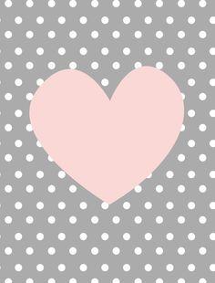 decoração poá,decoração coração,decoração infantil,print infantil,print coração rosa,arte coração rosa,tema infantil - CORAÇÃO POÁ INFANTIL Baby Room Wall Art, Baby Art, Baby Room Decor, Nursery Wall Art, Heart Wallpaper, Cute Wallpaper Backgrounds, Cute Cartoon Wallpapers, Love Wallpaper, Tableau Design
