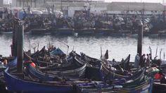 Agadir portul pescaresc